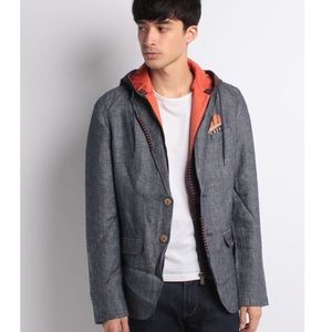 Desigual jacket with removable hoodie